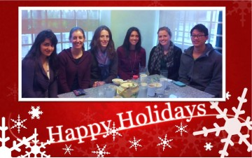 Happy Holidays from the Clinical Exercise Physiology Lab!