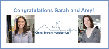 Congratulations to Dr. Sarah Neil-Sztamko and Dr. Amy Kirkham!