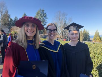 Congratulations to Sarah Weller, Logan Meyers, and Dr. Bolette Rafn on their successful MSc and PhD defences!