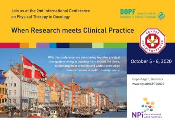 International Conference on Physical Therapy in Oncology (ICPTO) 2020
